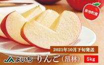 【2021年10月下旬発送】りんご(昂林)5kg