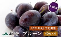 【2021年9月下旬発送】プルーン400g×4パック