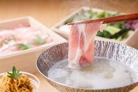 【葉渡莉料理長特製】切り干し大根で食べる能登豚の糀しゃぶしゃぶセット