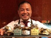 長崎県産牡蠣とさざえの瓶詰め3点セット