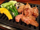 ◆B級グルメ高島とんちゃん焼き味付けかしわ鶏肉2パック800g冷凍