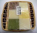 寒餅(杵つき餅)期間限定(白6枚、タカキビ・コキビ・よもぎ各2枚)×2シート24枚