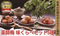 薬師味くらべセット(梅干し5種セット×2)