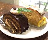 懐かしのぶらくり丁ロールとブラクリーゼの青春ケーキセット