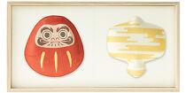 〈ご自宅用〉【百年物語プロジェクト】ふくら2種飾り(だるま×金雲)