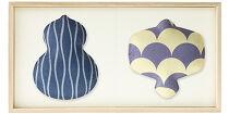 〈ギフト用〉【百年物語プロジェクト】ふくら2種飾り(瓢箪×小槌)