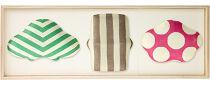 〈ギフト用〉【百年物語プロジェクト】ふくら3種飾り(松竹梅ポップ)