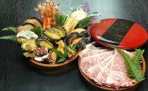 広島のおもてなし料理と宮島の工芸の重箱、宮島彫り本漆