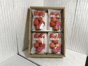 いちご「桃薫」~桃の香り&食感~4パック
