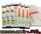 【ポイント交換専用】国産小麦粉100%島原手延べ素麺<3kg>【一級麺師謹製】(F-30)