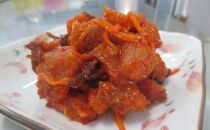 <網走産>大人気 鮭のキムチ漬