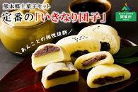 熊本郷土菓子セット(いきなり団子・とうきび餅・高菜万十)
