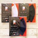 マスク『MIRAI』3枚セット松山ブランド新製品コンテスト2020金賞受賞【黒 FREE】