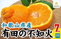 有田の不知火7kgAB品秀優品混合サイズミックス