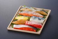 漬魚7種7味セット焼津本鰆等旬の魚8切入