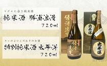 特別純米酒720ml2本セット 太平洋と勝浦浪漫
