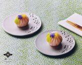 「ひんやり」をキープしてくれるアルミ鋳物の菓子皿(Umeセット)