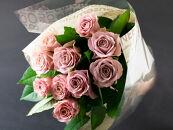 バラの花束 プラムマリー(ピンクパープル)