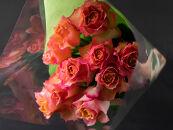 バラの花束 ブリッサ(オレンジ)