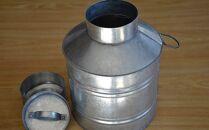 板金職人が作るトタンの保存缶