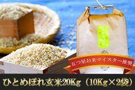 盛岡市産 ひとめぼれ(玄米)20kg