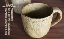 ヒビ粉引マグカップ(大)作家:馬渡新平