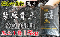 桜島の産物黒土「薩摩隼土」(家庭菜園用)