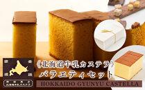 《北海道牛乳カステラ》バラエティセット