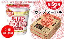 日清★カップヌードル★2箱・合計40食