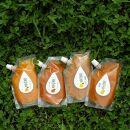 【有田産】大ちゃんの畑農園のこだわりの旬の4種の味(春峰・レモン・みかん・不知火)マーマレード詰合せセット