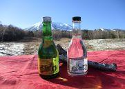 浅間記念館限定ラベル日本酒、焼酎セット