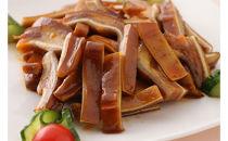 【豚ミミ(耳)の特製タレ煮】日本初上陸-伝統中国料理-鹵菜(ルサイ) 真空パック185g