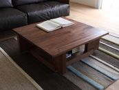 CARAMELLA Living Table 0909 walnut (wood top)