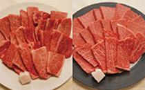 伊予牛絹の味(A4,A5)焼肉用ロース500g、カルビ・モモ500g[焼肉のたれ付き](冷凍)