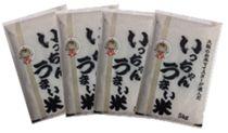 第5回大阪府民が選ぶ「いっちゃん旨い米コンテスト」グランプリ受賞米20kg(5kg×4)