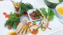 お山の有機野菜レストラン「だっぱん屋」畑と山の贅沢ランチお食事券ペア【CA02】