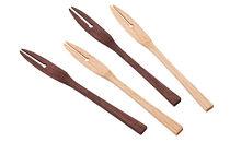 ※受付終了※【数量限定】<ささなき道具店>てづくりの木のフォークセット