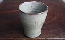 【数量限定】<天山窯・一條隆好作>灰釉 杯