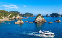 紀の松島巡り遊覧船ペアチケット