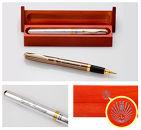 九州大学オリジナル セラミックボールペン2種類(シルバー、ブラウン)