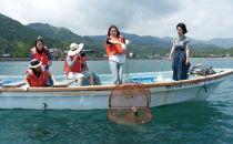 漁師のお父さんと漁業体験フルコースペア券