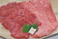 亀岡牛 肩ローススライス(600g)・モモ焼肉(600g)セット