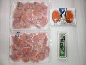 153-374-Cまぐろ満腹400gと佐藤水産いくらセット
