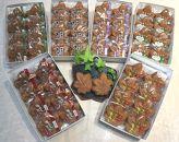 宮島銘菓 博多屋のもみじ饅頭食べ比べセット(8個入×6箱)