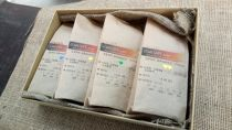 【ギフトセット】焙煎日明記自家焙煎真岡珈琲4種【粉】