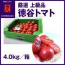 濃厚!徳谷トマト約4.0kg箱詰/生産者指定なし/厳選上級品/元木青果