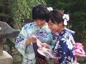【宮島】夏旅を満喫できる 浴衣レンタル体験チケット