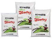 こうざきコシヒカリ(減農薬米)玄米12kg