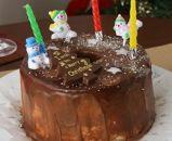 ★期間限定★クリスマスケーキ クーベルチョコのシフォンケーキ(5号サイズ)