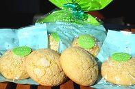 小さなキャベツメロンパンができました!「キャベツメロンクッキー」